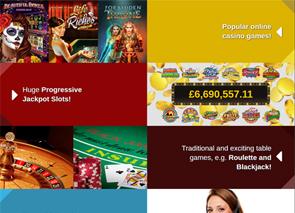 Casino Action Lobby